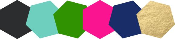 Default Color Palette Hex Codes