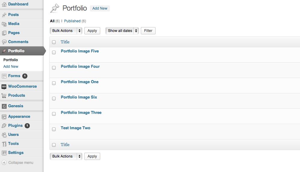 Modern Blogger Pro Portfolio Page 2