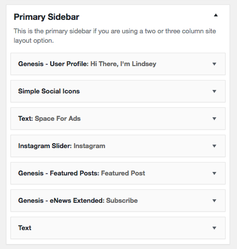 Modern Blogger Pro Primary Sidebar 8