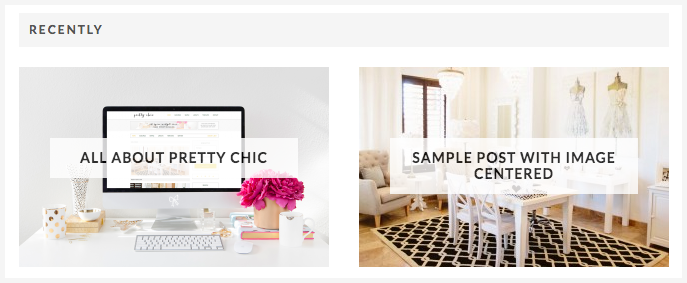 Pretty Chic Theme Home Middle