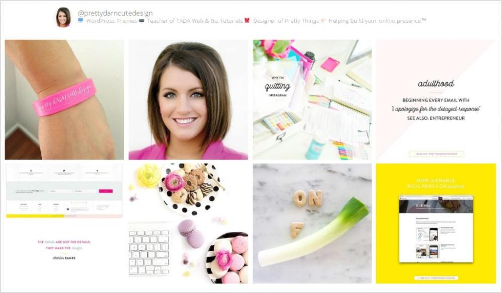 Pretty Creative Home Page 3 Widget Area 2