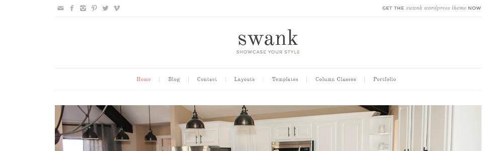 Swank Theme Navigation Menus 2
