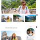 Travel Pretty: Home Page Layout 2