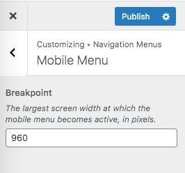 Mobile Menus Breakpoint